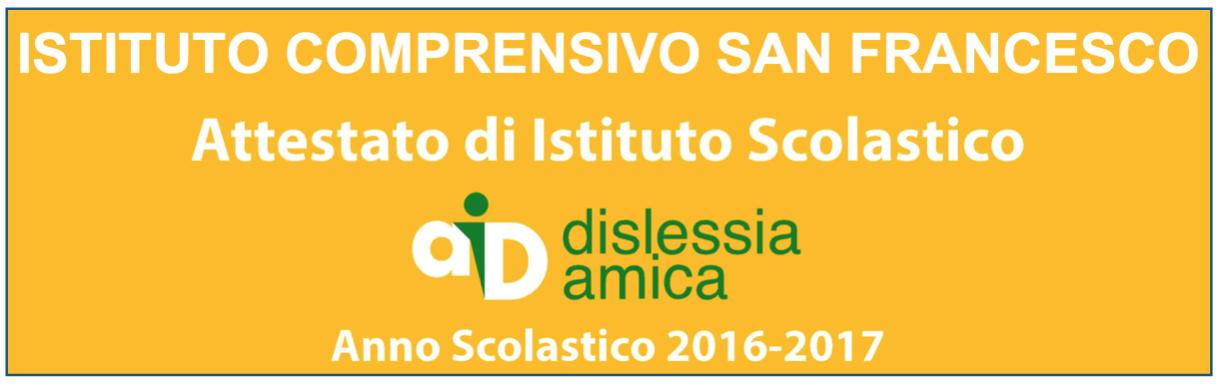 Logo Dislessia Amica