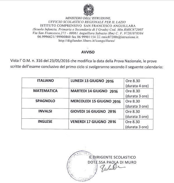 calendarioprovescritteesamifineprimociclo2015_16corretto